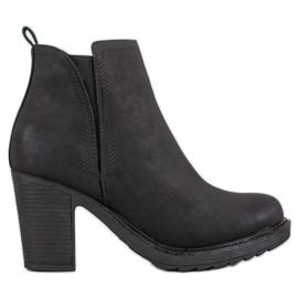 Goodin Textilní kotníkové boty černá