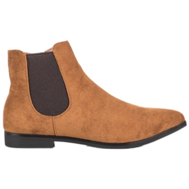 Marquiz Kotníkové boty hnědý