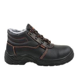 Černá pánská bezpečnostní obuv XH009D