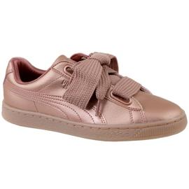 Puma Basket Heart Copper W 365463-01 boty růžový