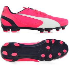 Fotbalová obuv Puma Evo Speed 3,3 Fg M 103014 03 růžový růžový