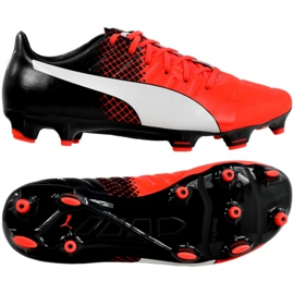 Fotbalová obuv Puma Evo 2,3 Fg M 103853 01 černá černá