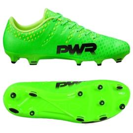 Fotbalová obuv Puma Evo Power 3 Fg 103956 01 zelená zelená