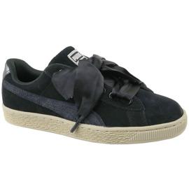 Puma Basket Heart Metallic Safari W 364083-03 boty černá