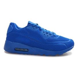 Blue Mesh Sports Shoes modrý