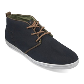 High Casual Sneakers A001-1 Blue válečné loďstvo
