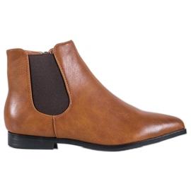 Marquiz Velbloudí kotníkové boty hnědý