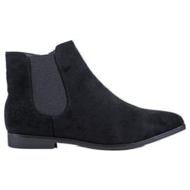Marquiz Kotníkové boty černá