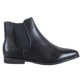 Marquiz Černé kotníkové boty černá