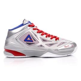 Peak TP9 Quickness 2 E33323A M 62266-62270 basketbalové boty stříbro šedá / stříbrná