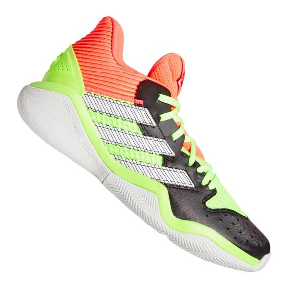 Obuv Adidas Harden Stepback M EF9890 černá, červená, zelená zelená