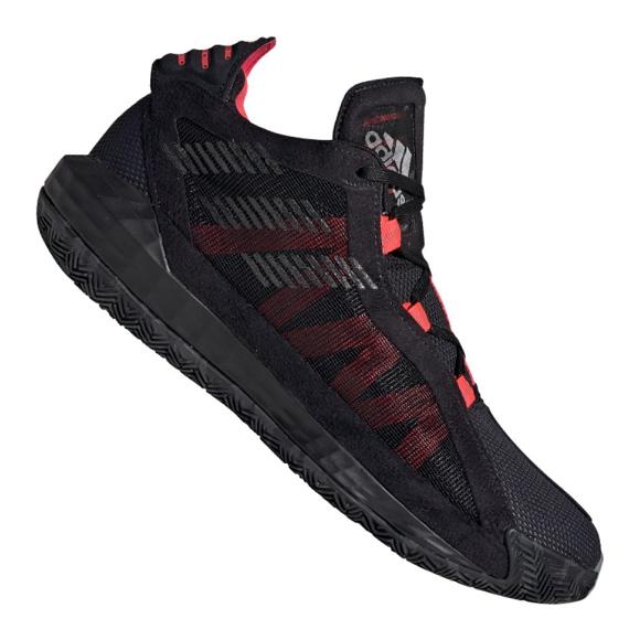 Obuv Adidas Dame 6 M EF9866 černá, červená černá