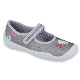 Dětská obuv Befado 114Y384 šedá