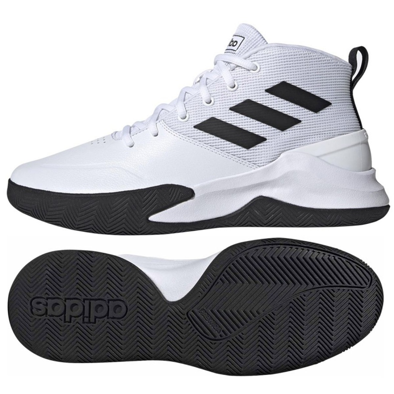 Basketbalové boty adidas Ownthegame M EE9631 bílá bílá