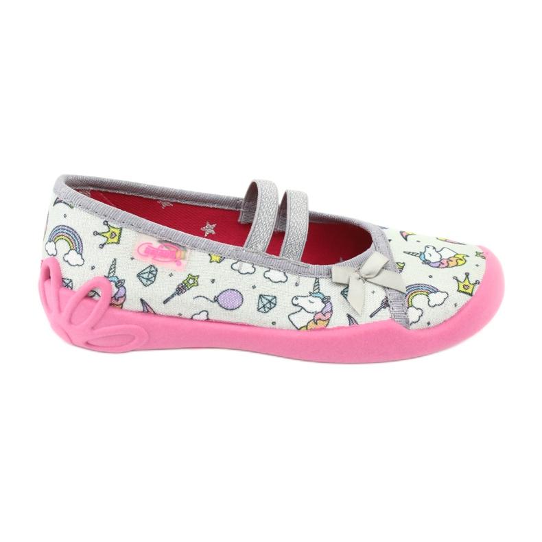 Dětská obuv Befado 116X266 růžový šedá