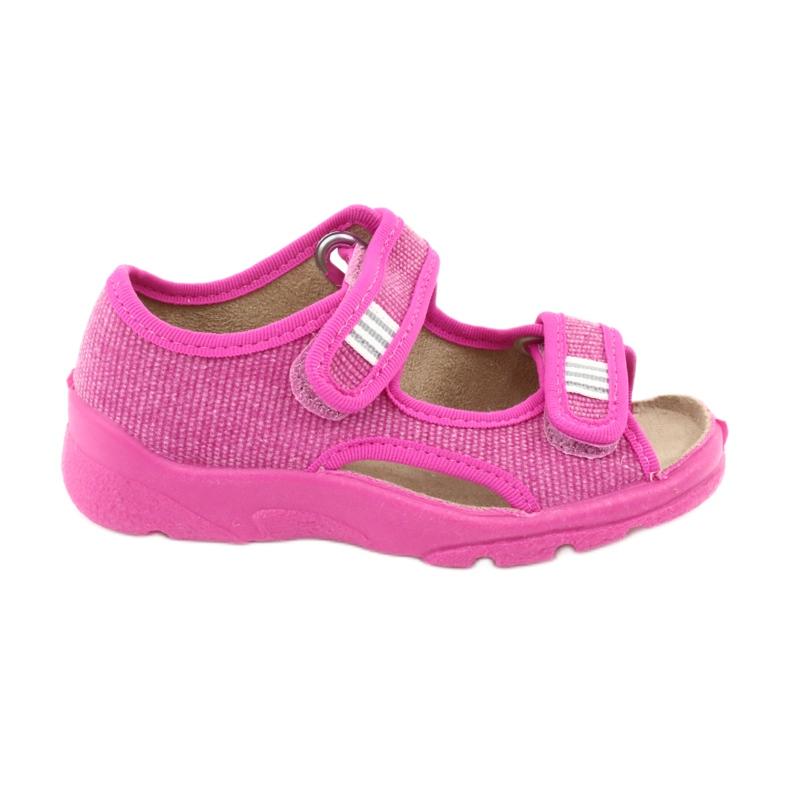 Befado dětské boty 113X009 růžový