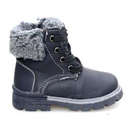 Dětské černé boty černá