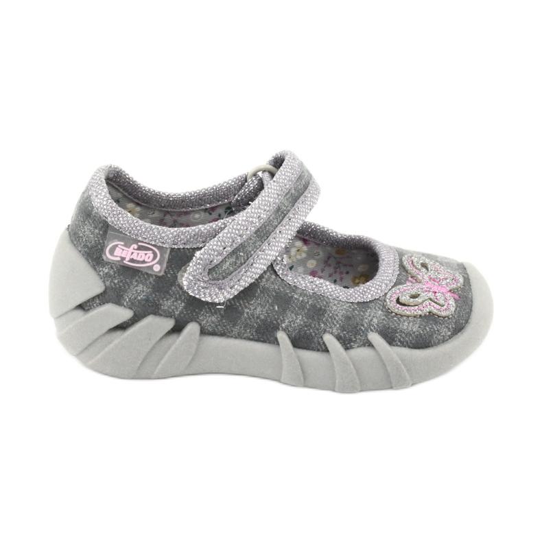 Dětská obuv Befado 109P189 šedá