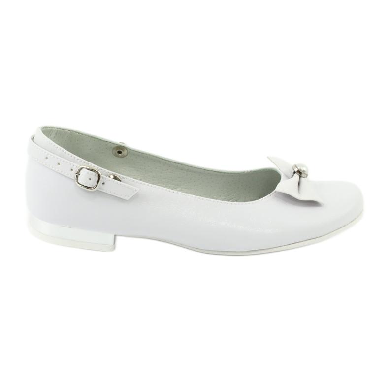 Baleríny White Miko 806 bílá šedá