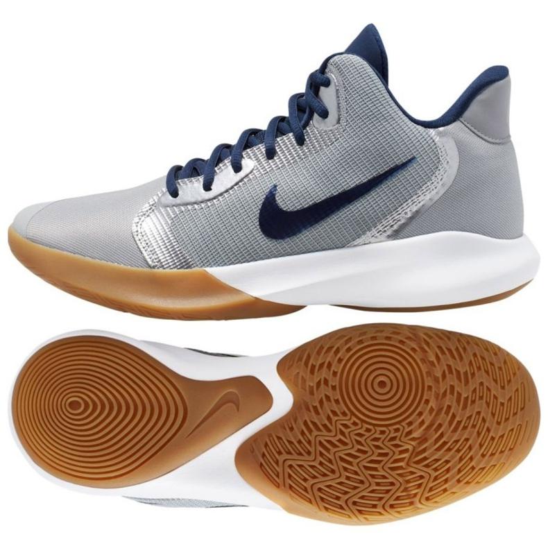 Obuv Nike Precision Iii M AQ7495-008 šedá šedá / stříbrná