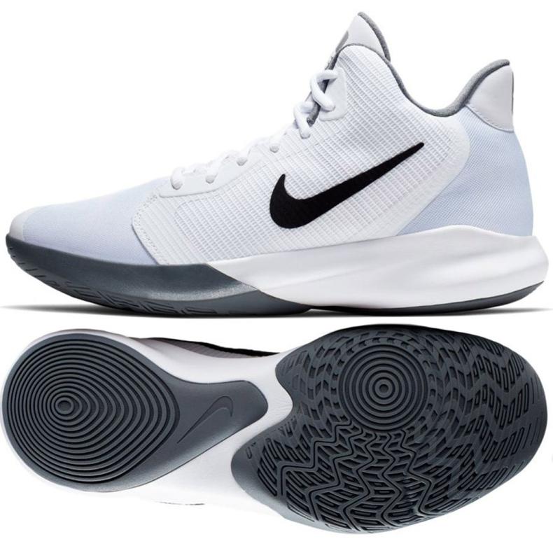 Obuv Nike Precision Iii M AQ7495-100 bílá bílá
