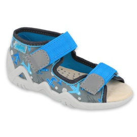 Befado žluté dětské boty 350P007