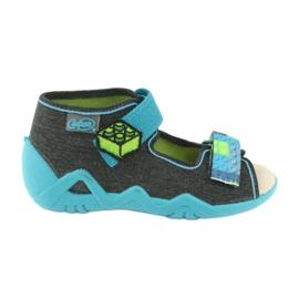 Befado žluté dětské boty 350P006