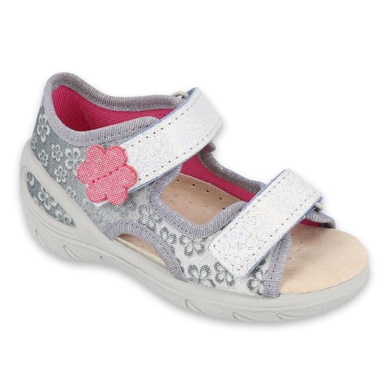 Dětské boty Befado pu 065P139 šedá