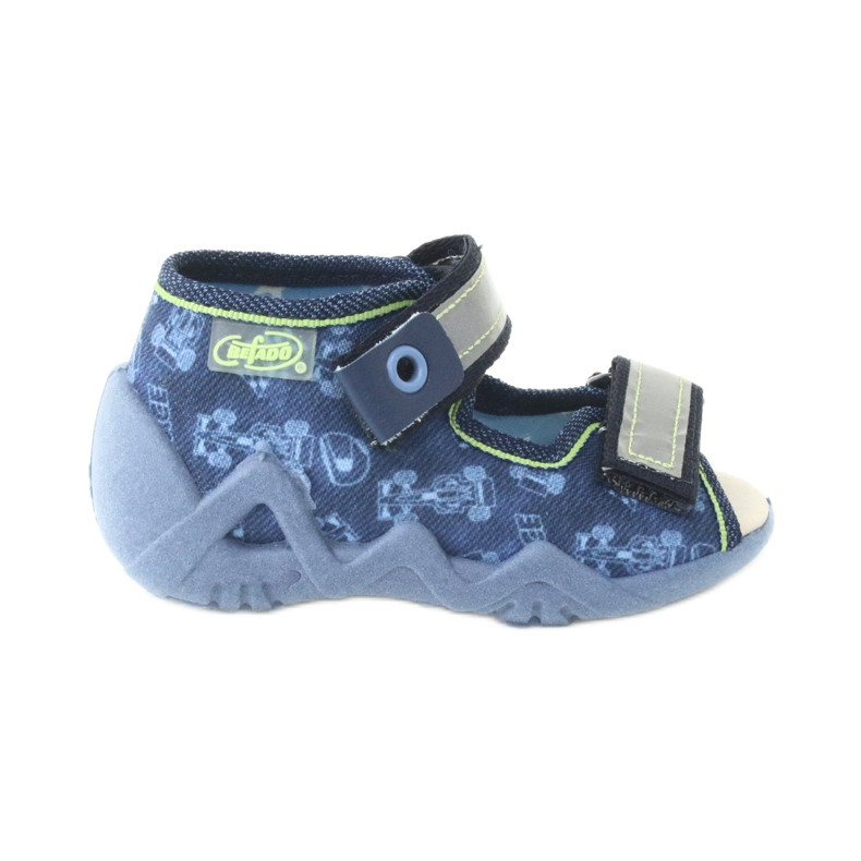 Befado žluté dětské boty 350P011