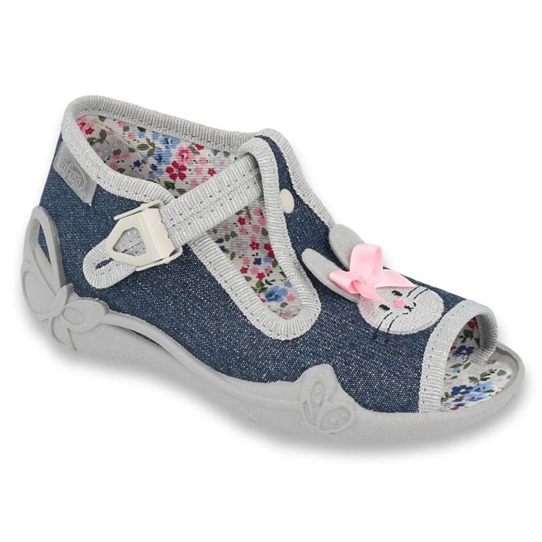 Dětská obuv Befado 213P119 šedá