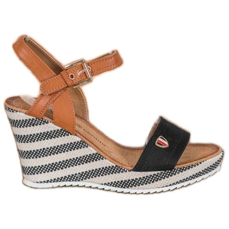 Goodin Módní klínové sandály