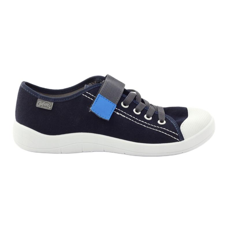 Velcro tenisky Befado 251Q047 tmavě modrá válečné loďstvo