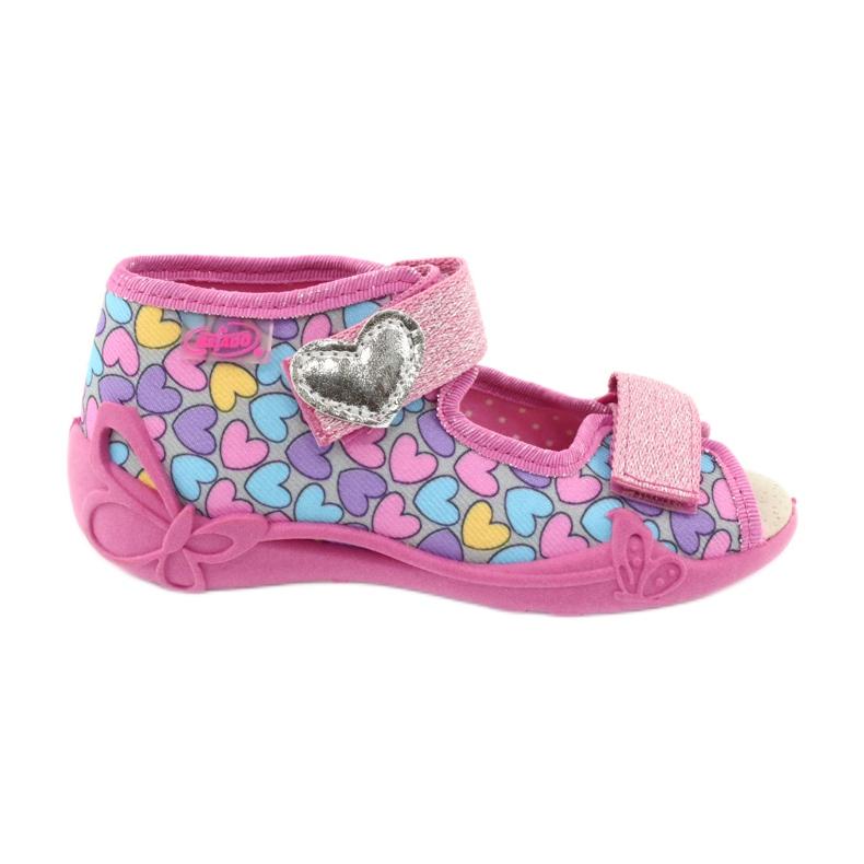 Dětská obuv Befado žlutá 342P014 růžový