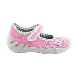 Befado dětské boty 109P180 růžový