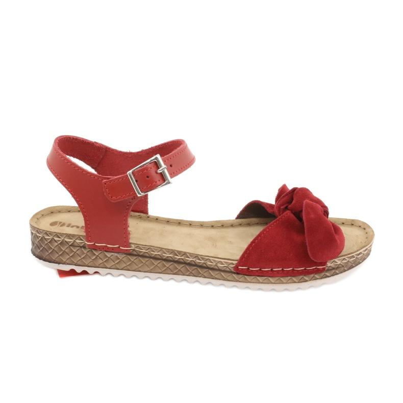 Dámské boty Comfort Inblu 158D117 červená