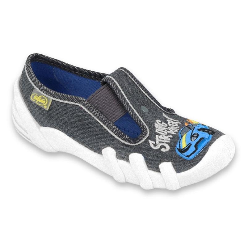 Dětská obuv Befado 290X195 šedá