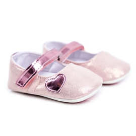 Apawwa Dětské tenisky Velcro Křest Pink Bellawa růžový
