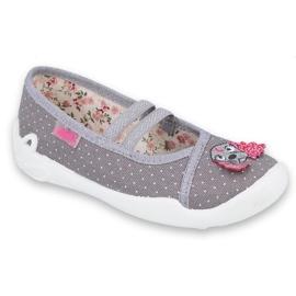 Dětská obuv Befado 116X277 šedá