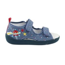 American Club Americké sandály dětské boty kožená stélka TEN28