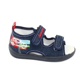 American Club Americké sandály dětské boty kožená stélka TEN46