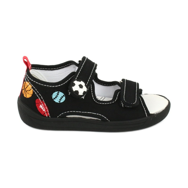 American Club Chlapecké sandály pantofle American TEN27 černá