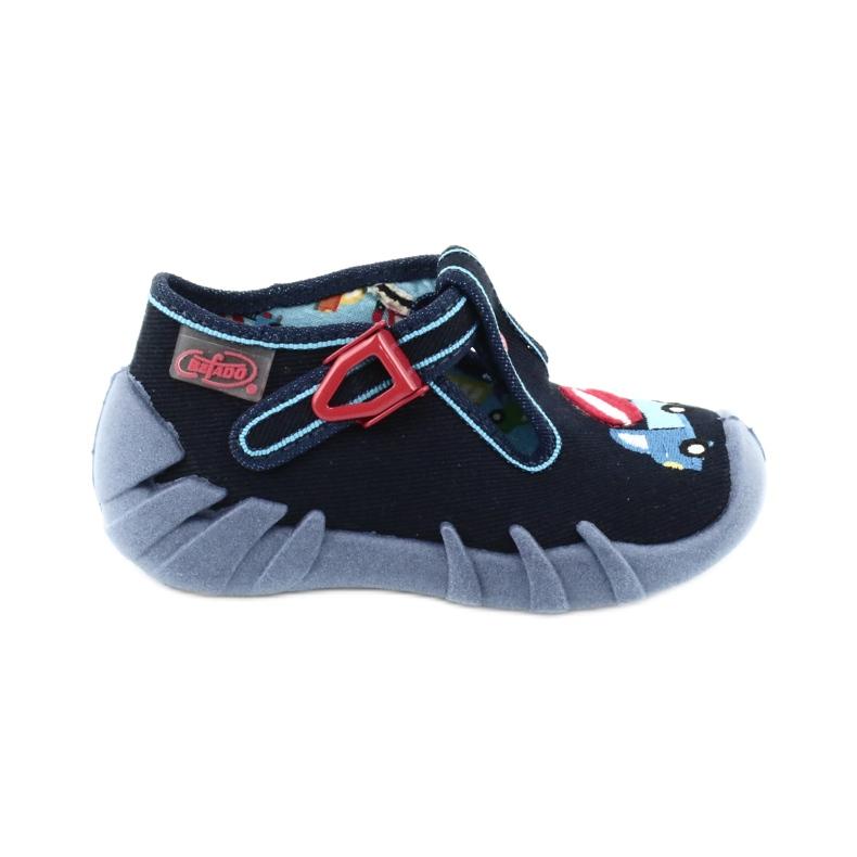 Dětská obuv Befado 110P385 válečné loďstvo modrý