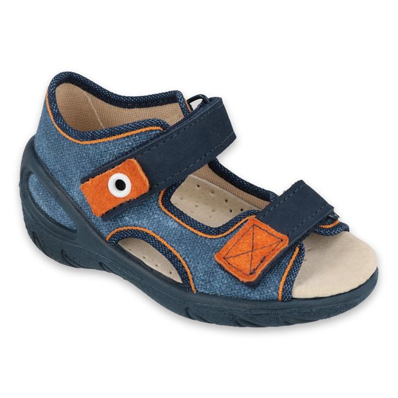 Befado dětské boty pu 065X140 válečné loďstvo