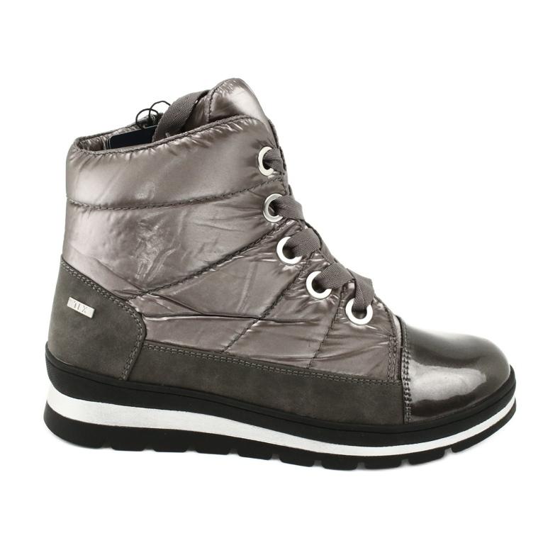 Hnědé sněhové boty, membrána Caprice 26212 hnědý