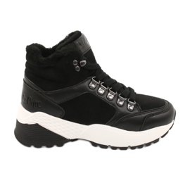 Sportovní pohodlné boty Lee Cooper LCJL-20-31-152 černá