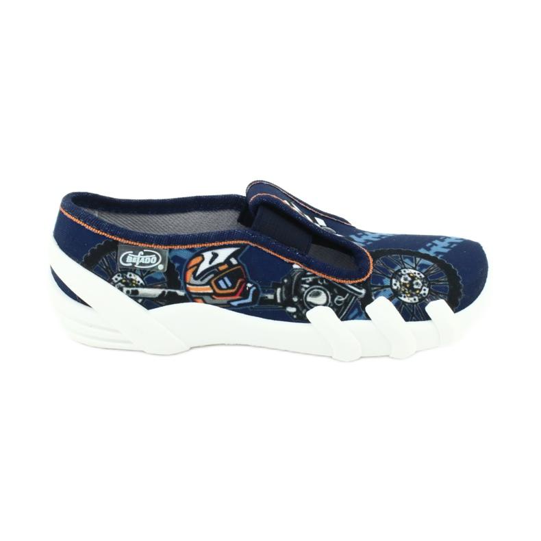 Dětská obuv Befado 290Y211 válečné loďstvo