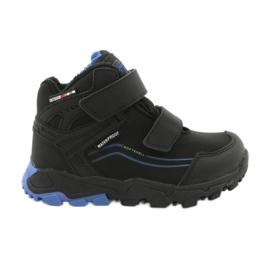 American Club Softshellové boty s membránou černá modrý
