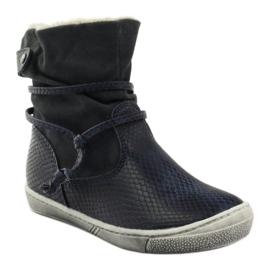 American Club Zimní boty, vysoké boty, tmavomodré, americké 16183 válečné loďstvo 1