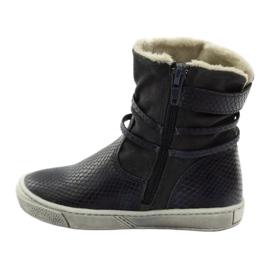 American Club Zimní boty, vysoké boty, tmavomodré, americké 16183 válečné loďstvo 2