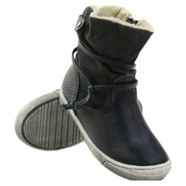 American Club Zimní boty, vysoké boty, tmavomodré, americké 16183 válečné loďstvo 3